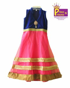 Kids long frock gown