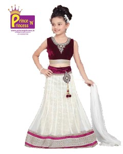 Kids Girls traditional ethnic lehenga choli