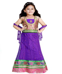 Kids girls lehenga choli ethnic wear traditional