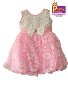 Kids girls party frock western wear